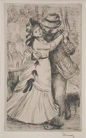 la danse a la campagne by pierre-auguste renoir