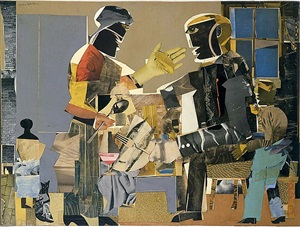 fish fry by romare bearden