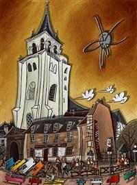 mon dieu les artistes - ocre-rouille by alain godon