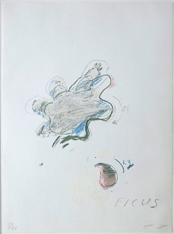 ficus carica by cy twombly
