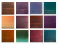 evening grid (12 set) by miya ando