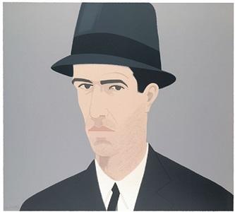 alex katz, self- portrait (passing) by alex katz