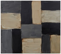 barcelona doric black and grey by sean scully