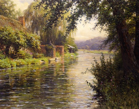 summer morning by louis aston knight