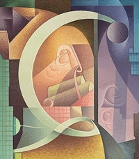 variations on a rhythm - c by raymond jonson