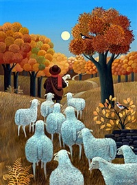 autumn pastoral by jean-pierre lorand
