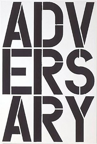 black book print by christopher wool
