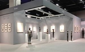 installation view anton hiller at cologne fine art 2013 by anton hiller