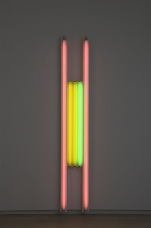 untitled (to annemarie and gianfranco) 4 by dan flavin