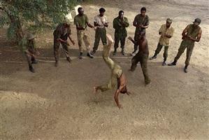 capoeira, 1974 by stan douglas
