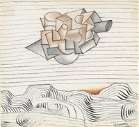 landscape by saul steinberg