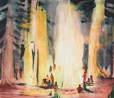 firepeople by jules de balincourt