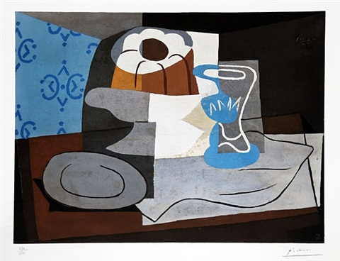 nature morte à la charlotte (still life with charlotte) by pablo picasso
