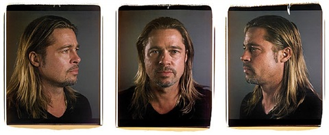 untitled (brad) by chuck close