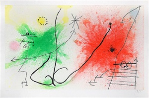 partie de campagne v (a day in the country v) by joan miró