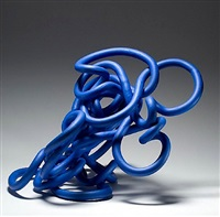 re:coil (blue) by anne hirondelle