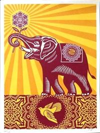 obey elephant - gift by shepard fairey