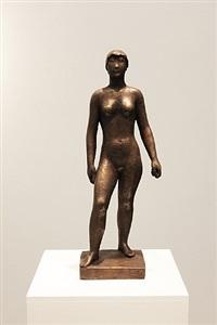 weibliche figur by anton hiller