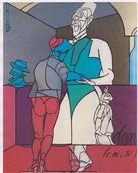 obéron by valerio adami