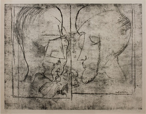 the chess players by marcel duchamp