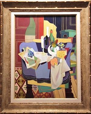 composition cubiste by clément-serveau