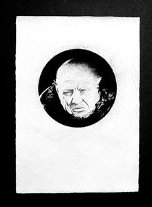 el bebedor de aguardiente (iii) by bernardí roig