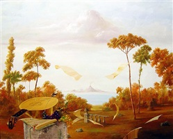 landscape with mandolin by michael gorban