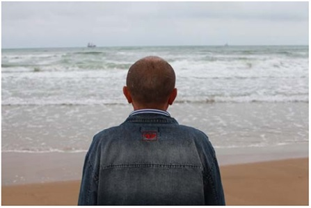 lhomme profond deep man from the series voir la mer by sophie calle