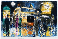place pigalle by night by kees van dongen