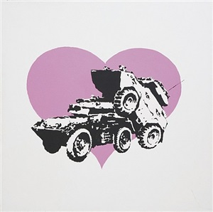 every time i make love to you i think of someone else by banksy