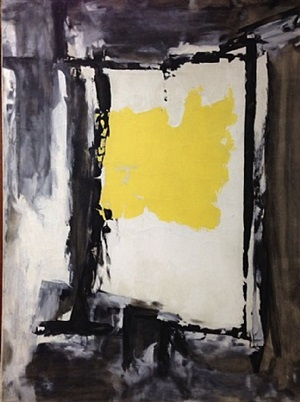 structure and space (yellow) by gertrude greene