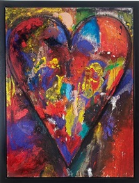 french-canadian racing heart by jim dine