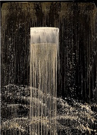 san francisco waterfall i by pat steir