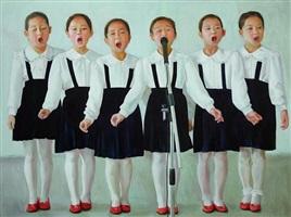 childhood in northern korea by chen liangjie