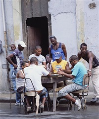 domino players havana by andres serrano