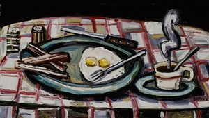 eggs and coffee by david bates