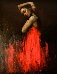 marianela in red 1 by mark demsteader