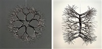 modernist hanging form by ruth asawa