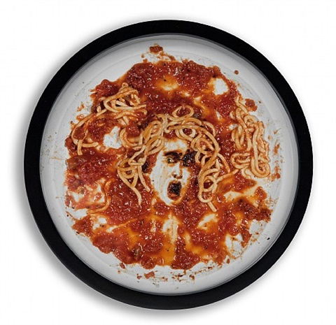 medusa marinara by vik muniz