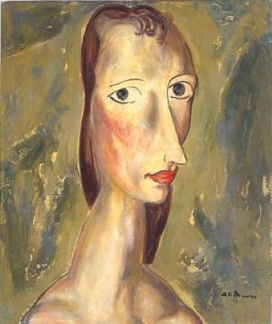 girl by alfred henry maurer