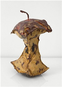 study for rotten apple core by coosje van bruggen and claes oldenburg