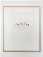 ovidio by cy twombly