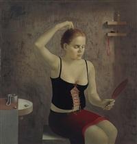 mädchen mit spiegel by paulis postazs