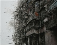 fragmented city no. 8 by li hua