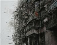 fragmented city no. 8 by li hua