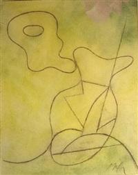 vase. composition pour jean bélias by hans arp