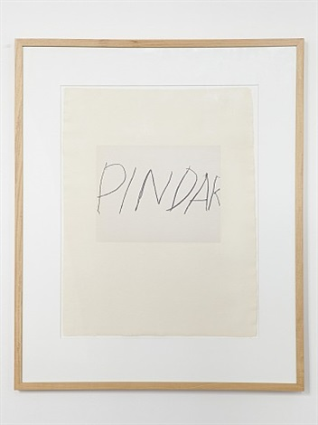 five greek poets and a philosopher - pindar by cy twombly