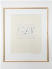 plato by cy twombly