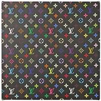 monogram multicolore (black) by takashi murakami