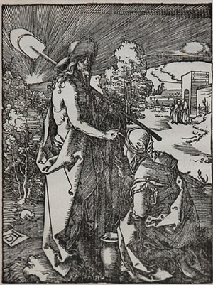 noli me tangere (the small passion) by albrecht dürer